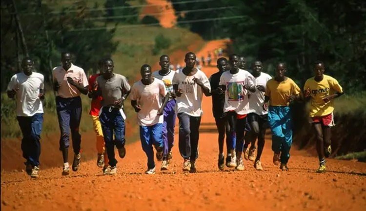 Kenya running tribe